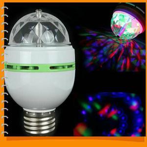 Lâmpada giratória com jogo de luz