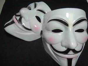 Máscaras V De Vingança - Anonymous Vendetta Guy Fawkes