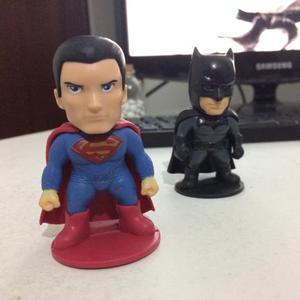 Bonecos DC Batman e Superman, 7cm. Promoção!