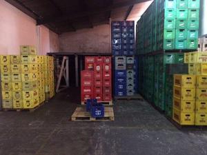 Caixas de vasilhame de cerveja 600 ml