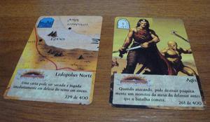 Cards Spellfire - O Poder da Magia em perfeitas condições