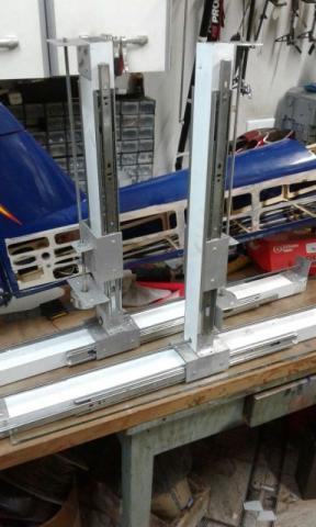 Cnc corte de kit aeromodelo em isopor