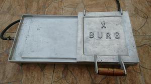 Chapa p/ lanches em alumínio fundido