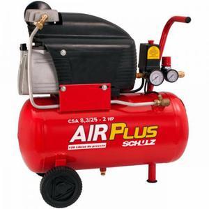 Compressor De Ar Schulz Air Plus + kit Multiuso para