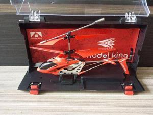 Helicóptero Model King Vermelho C/controle Remoto