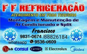 Instalaçao de split a partir de 150 reais