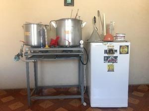 Kit completo de 20 litros para fazer cerveja