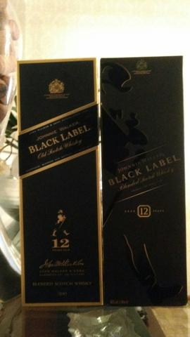 Whisky Black Label 12