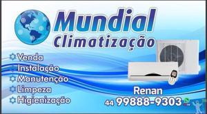 instalação, manutenção, limpeza de ar condicionado