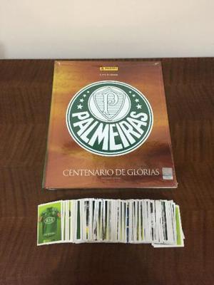 Álbum Capa Dura Completo do Palmeiras Centenário de
