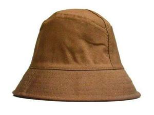 Chapéu balde bucket hat cata ovo chorão cor marrom café 40b6b418449