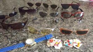 Lote c/ 10 óculos de sol aproveita