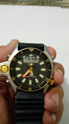 Relógio Aqualand  serie ouro