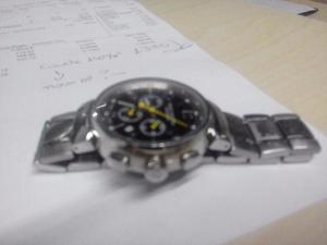 b6025c442a6 Relógio louis vuitton chronometer