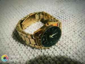 Relógio Michael Kors Feminino Gold Aço