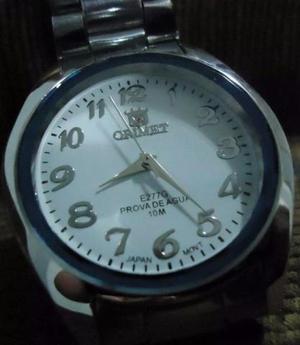 9de4815d6c0 Relógio orimet scuba branco pulseir aço