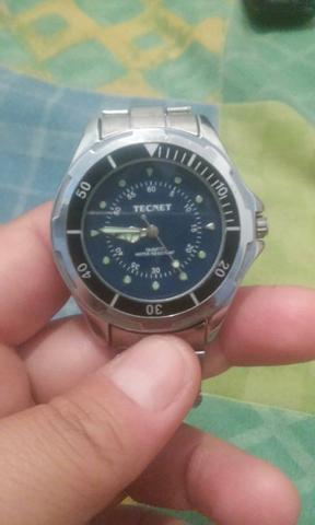 077ff2cef67 Relógio tecnet original aço