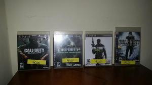 Jogo PS3 Call of Duty