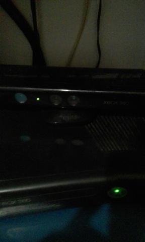 Xbox 360 Bloqueado Com kinect+20 Jogos Originais em mídia