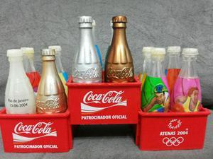 Coleção de garrafas coca cola olimpíadas de Atenas