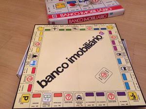 Jogo Banco Imobiliário Modelo Anos 80 Fabricação Anos 90