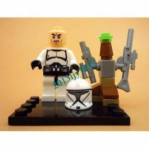 Lego Dc Comics Marvel Star Wars Lego Lote Com 6 Bonecos