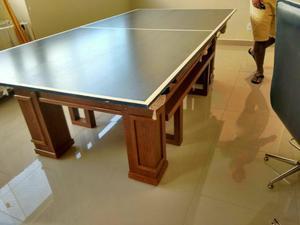 Mesa Sinuca 3 em 1: Sinuca/ Jantar/ Ping pong