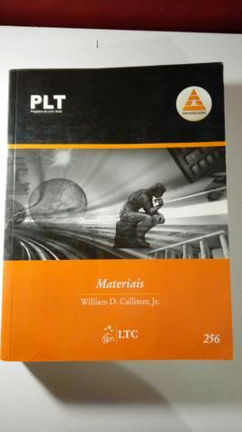 3 Livros engenharia Materiais, Dinâmica e Desenho técnico