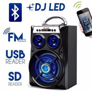 Caixa De Som Micro System Usb Bluetooth