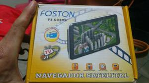 GPS Foston F-533DV tela 5,0 pol