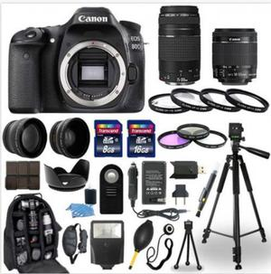 Kit Camera Canon Eos 80d + Lente  E