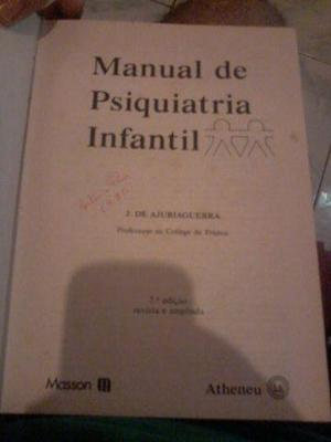 Livro mamual de psiquiatria infantil