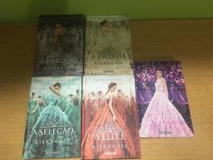 Livros saga a seleção!