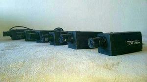 Lote de câmeras de segurança profissional semi-novo