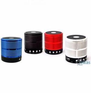 Mini Caixa De Som Portátil Speaker Ws-887 - Preto