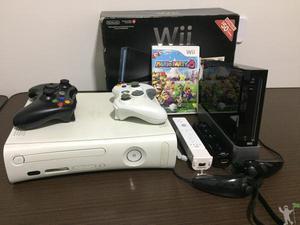 Vende-se Xbox e Nintendo Wii