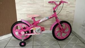 Bicicleta caloi aro 16/ barbie / impecável