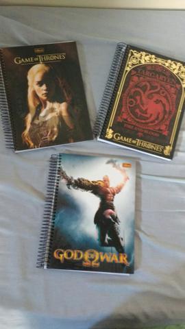 Cadernos Game of Thrones e +