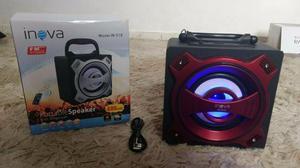 Caixa de som Portátil Bluetooth Usb Mp3
