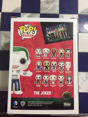 Joker funko pop 96 esquadrão suicida boneco dc comics