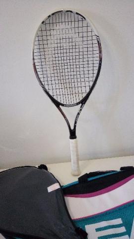 Raquete de tênis marca Head modelo PCT SPEED - Foi usada