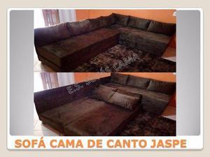 Sofás cama de canto Jaspe, 6 lugares, abre 4 camas