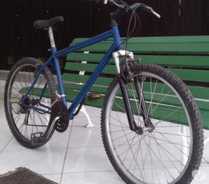 bicicleta caloi aro 26 toda shimano suspensão logam
