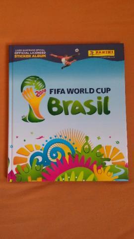 Álbum Fifa World Cup Brasil , Capa Dura, Completo