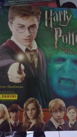 Álbum figurinhas completo Harry Potter e a Ordem da Fênix