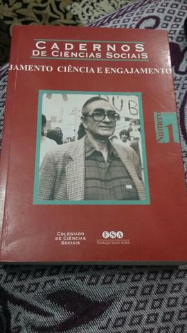 Livro: Cadernos de Ciências Sociais