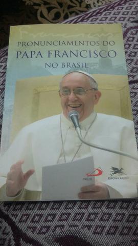 Livro: Pronunciamentos do Papa Francisco no Brasil
