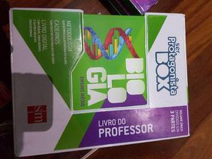 Livro Ser Protagonista Box Completo Biologia Ensino Medio