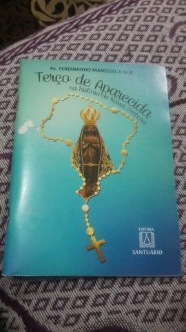 Livro: Terço de Aparecida na história de Nossa Senhora