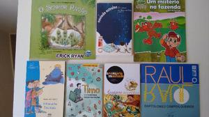 Livro de literatura infantil, historia / estória. A partir